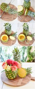 Tutoriel Centre de table Ananas