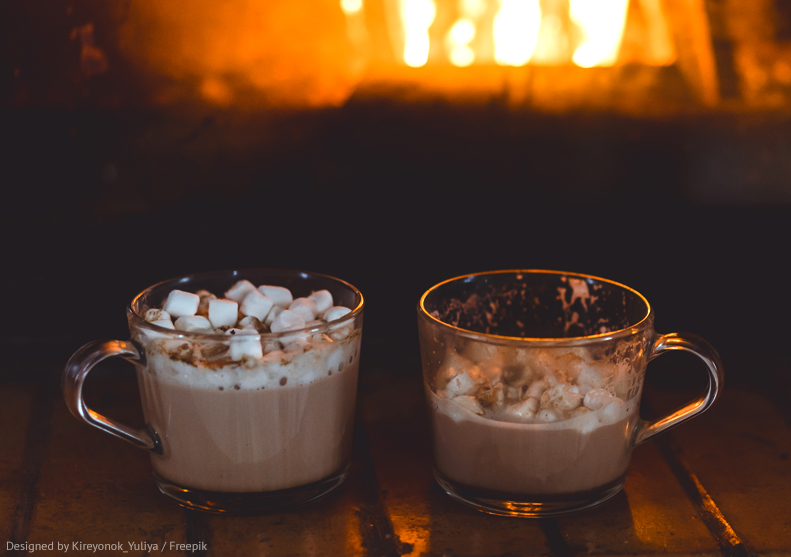 Recette cocooning : Chocolat chaud aux chamallows