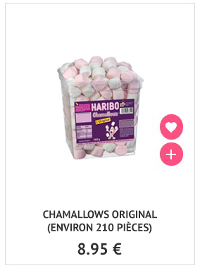 Chamallows Haribo