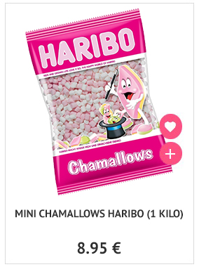 Mini chamallows Haribo