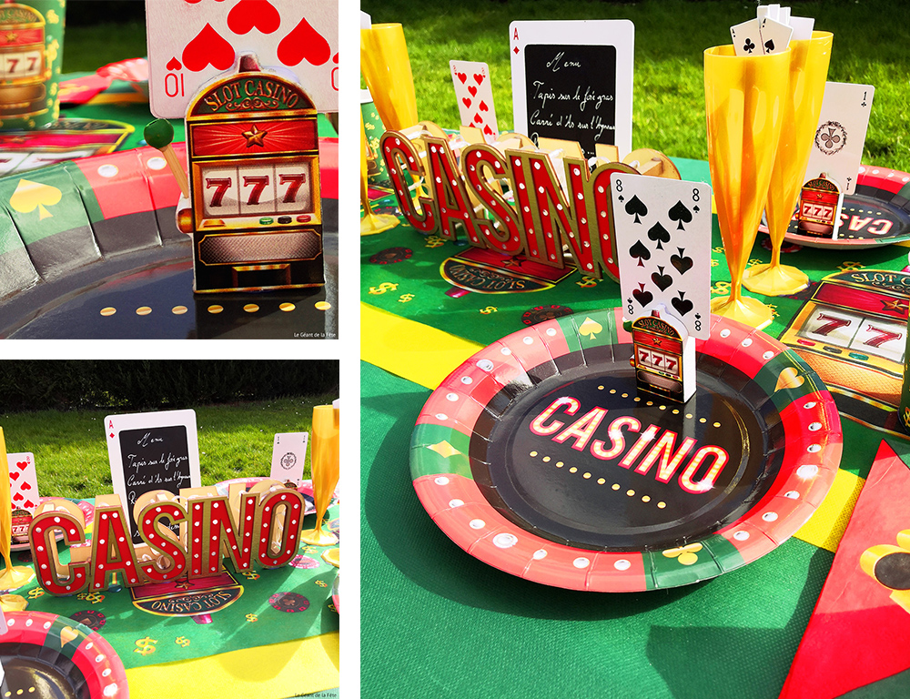 Table Le Géant de la Fête Casino