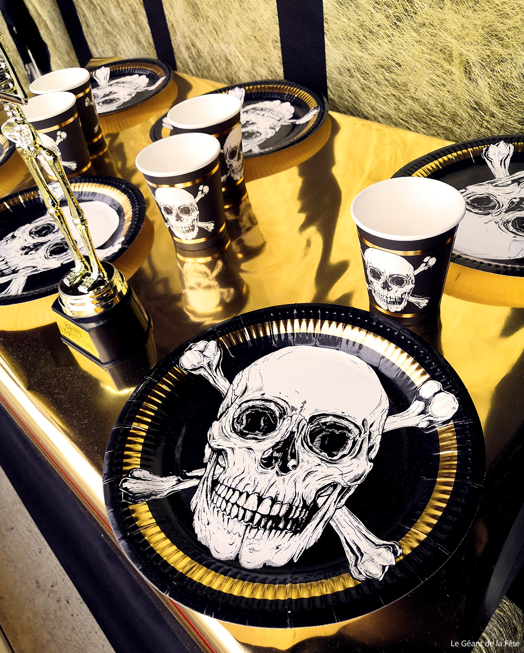 Décoration de table Pirate pour Halloween