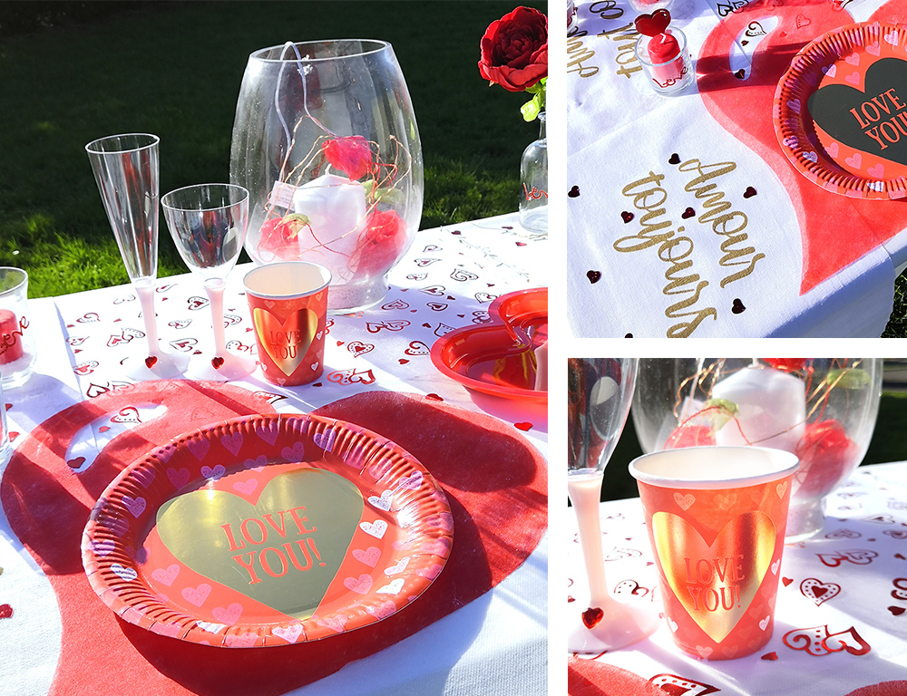 Table Le Géant de la Fête - Saint Valentin